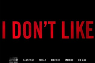 Chief Keef featuring Big Sean, Jadakiss, Kanye West & Pusha T – I Don't Like Remix (Artwork)