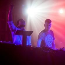 Skream and Benga live at Neumos in Seattle, Washington