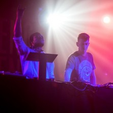 Skream and Benga live at Neumos in Seattle, Washington