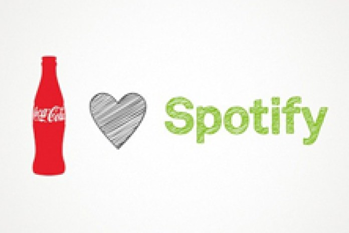 Spotify forms new global partnership with Coca-Cola
