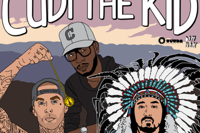 Steve Aoki featuring Kid Cudi & Travis Barker - Cudi The Kid (The Remixes)