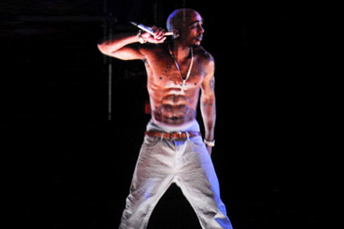 Tupac's hologram Coachella performance causes huge sales rise and chart reemergence