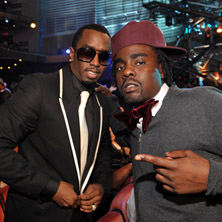 Wale featuring French Montana, Meek Mill, Diddy & Ma$e - Slight Work (Remix)
