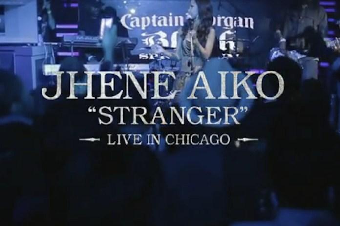 Jhene Aiko - Stranger (Live in Chicago)
