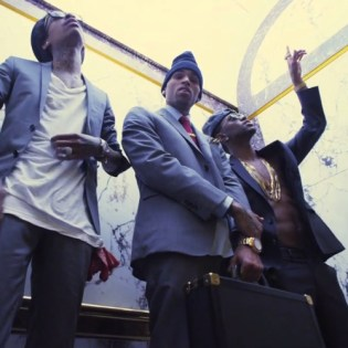 Chris Brown featuring Big Sean and Wiz Khalifa - Till I Die