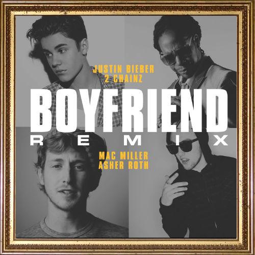 Justin Bieber featuring 2 Chainz, Mac Miller & Asher Roth - Boyfriend (Remix)