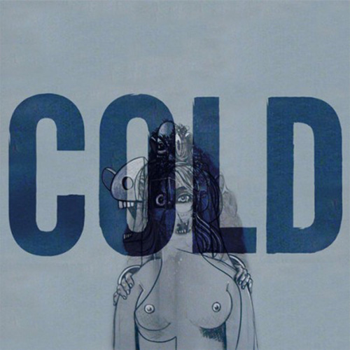 """Kanye West's New """"Cold"""" Artwork by George Condo"""
