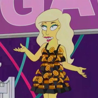 Lady Gaga - You're All My Little Monsters (The Simpsons Song)