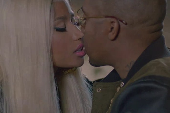Nicki Minaj featuring Chris Brown - Right By My Side (Co-Starring Nas)