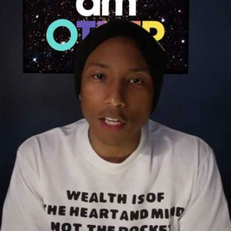 "Pharrell Williams Discusses ""i am OTHER"""