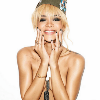 Rihanna for Esquire by Matt Irwin