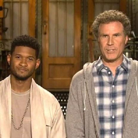 Usher stars alongside Will Ferrell in SNL Promo