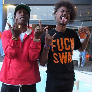 "A$AP Rocky & Danny Brown ""Back and Forth"" Part 1 & 2 (Interview)"