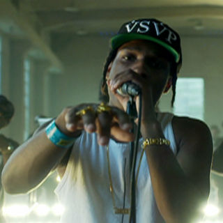 "A$AP Rocky Performs ""Purple Swag"" on MTV's 'Push Live'"