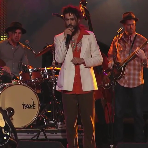 "Edward Sharpe & The Magnetic Zeros - ""Man On Fire"" & ""That's What's Up"" (Live on Jimmy Kimmel)"