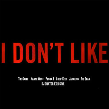 Game featuring Chris Brown - I Don't Like (Remix) (Drake Diss)