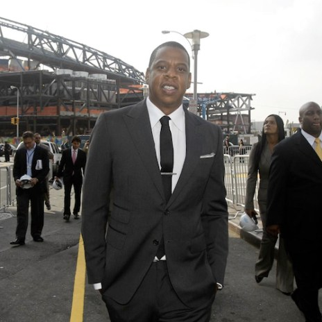 Jay-Z Opening 40/40 Club in Brooklyn's Barclays Center