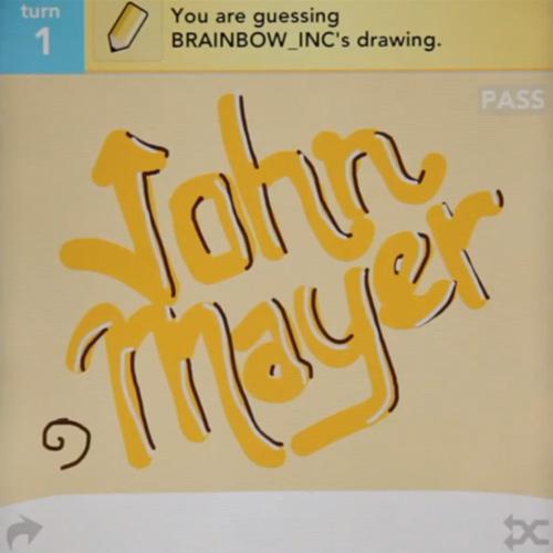 John Mayer - Queen of California (Draw Something Video)