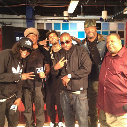 Kid Ink, Ab-Soul, N.O.R.E. & Ed Lover - RapFix Live (Freestyle)