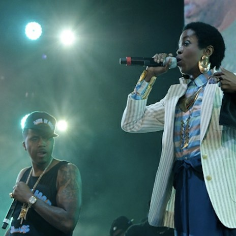 Nas Brings out Lauryn Hill at Summer Jam