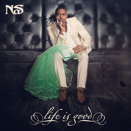 Nas Talks 'Life Is Good' Cover Art, Collaborations