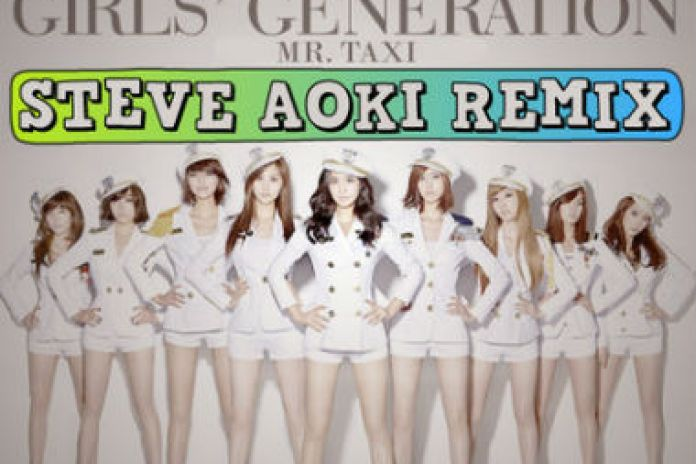 Girls' Generation - Mr. Taxi (Steve Aoki Remix)