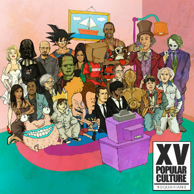 XV featuring ScHoolboy Q - AaaHH! Real Monsters