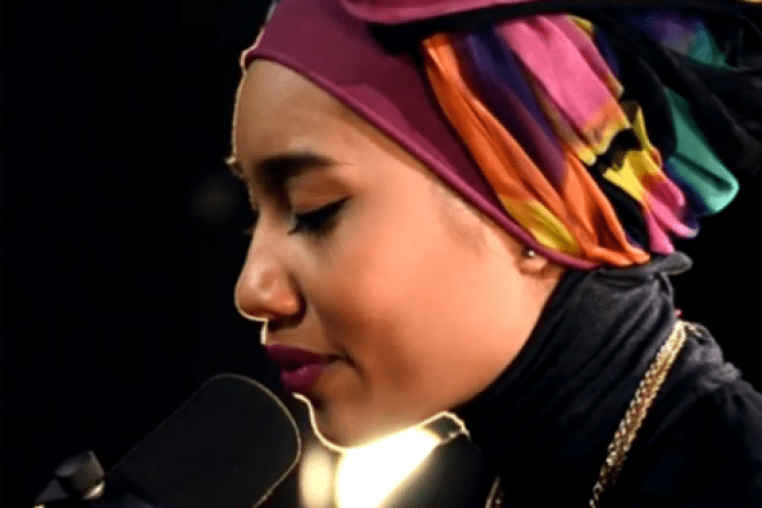 "Yuna Performs ""Live Your Life"" at Billboard Studios"