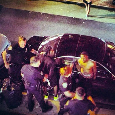 A$AP Rocky Arrested In NYC