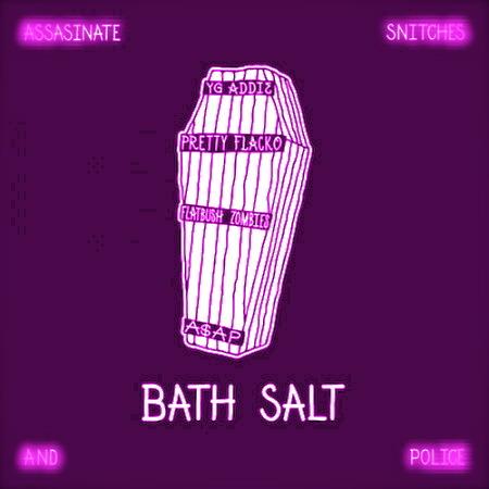 A$AP Rocky & A$AP Mob featuring Flatbush Zombies – Bath Salt (Chopped & Screwed by Slim K)