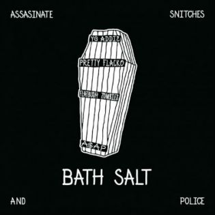 A$AP Rocky & A$AP Mob featuring Flatbush Zombies - Bath Salt (Artwork)