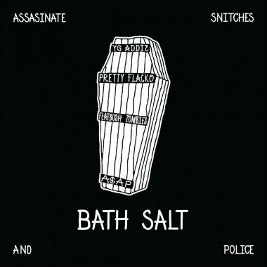 A$AP Rocky & A$AP Mob featuring Flatbush Zombies - Bath Salt (Artwork)