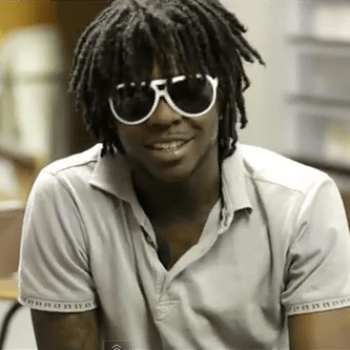 Chief Keef Shoots Rifles and Talks New Mixtape