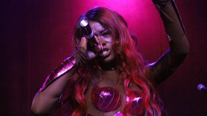 event recap azealia banks mermaid ball takes over hollywood