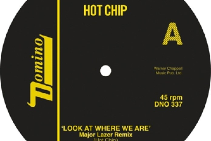 Hot Chip - Look At Where We Are (Major Lazer Remix)