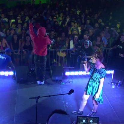 "Kendrick Lamar & Best Coast Perform ""No Make-Up (Her Vice)"""