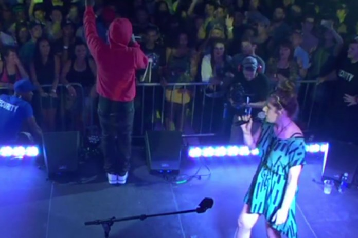 "Kendrick Lamar & Best Coast Perform ""No Make-Up (Her Vice)"""