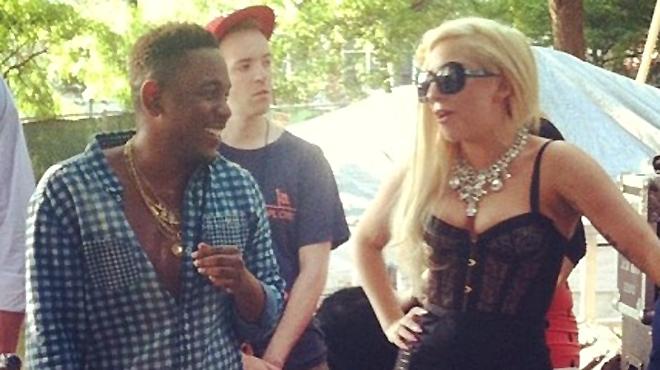 kendrick lamar on friendship with lady gaga