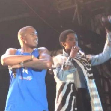 Nas & Lauryn Hill Perform at Openair Frauenfeld Festival 2012