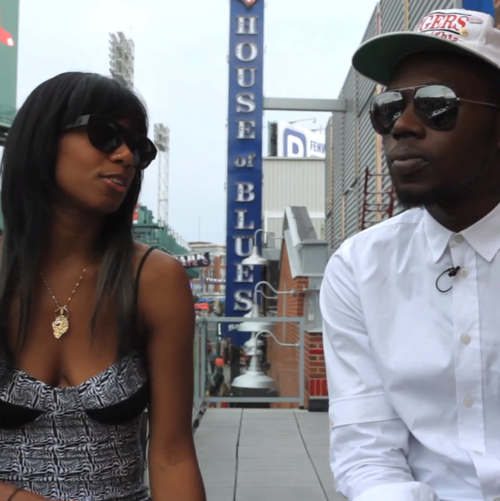 Theophilus London & Santigold 'Reply All' (Interview)