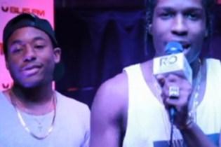 A$AP Rocky & A$AP Ant - BLIS FM Freestyle (Video)