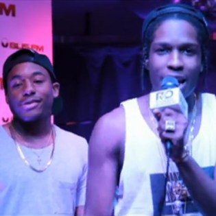 A$AP Rocky & A$AP Ant - BLIS FM Freestyle (Video)