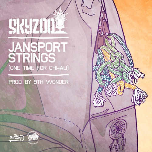 Skyzoo - Jansport Strings (Produced by 9th Wonder)