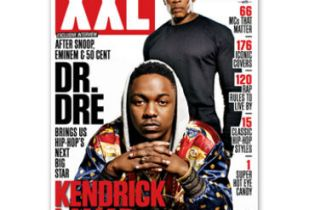 Kendrick Lamar and Dr. Dre Cover XXL's 15th Anniversary Issue