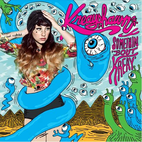Kreayshawn - Somethin 'Bout Kreay (Release Date & Artwork)