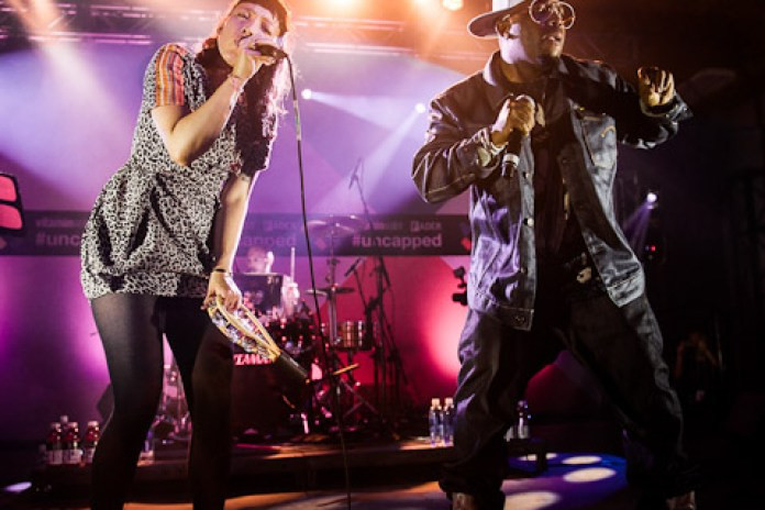 Little Dragon featuring Big Boi - Mama Told Me (Live at vitaminwater & FADER Uncapped)