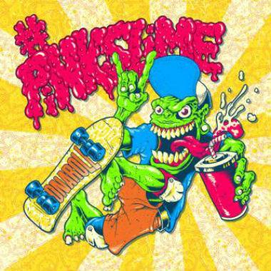 Mac Miller & Pharrell Williams - Pink Slime (EP Artwork)