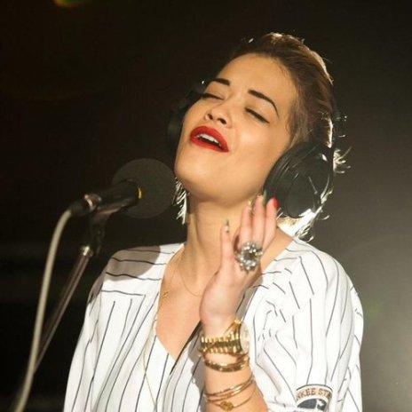 """Rita Ora Covers Frank Ocean's """"Swim Good"""""""