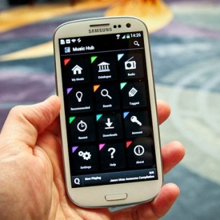 Samsung Launches Music Hub in U.S. Featuring Storage & Radio