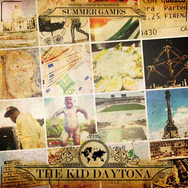 The Kid Daytona - Summer Games: The Kid with the Golden Pen (Mixtape)